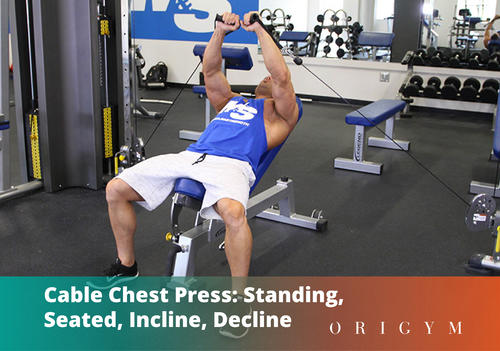 Cable Chest Press Banner