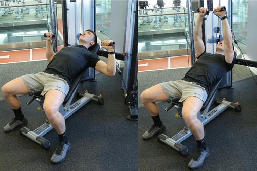 Incline Cable Chest Press image